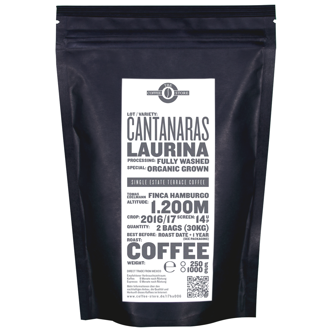 Cantaranas, Laurina - Kaffeeröstung
