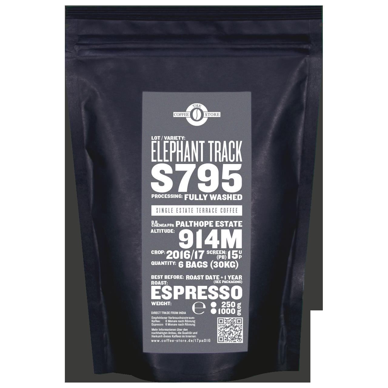 Elephant Track, S795 - Espressoröstung