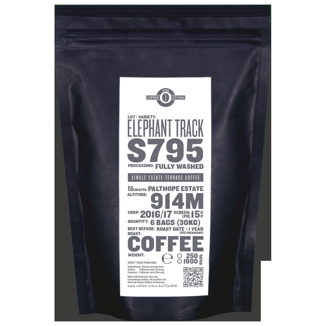 Elephant Track, S795 - Kaffeeröstung
