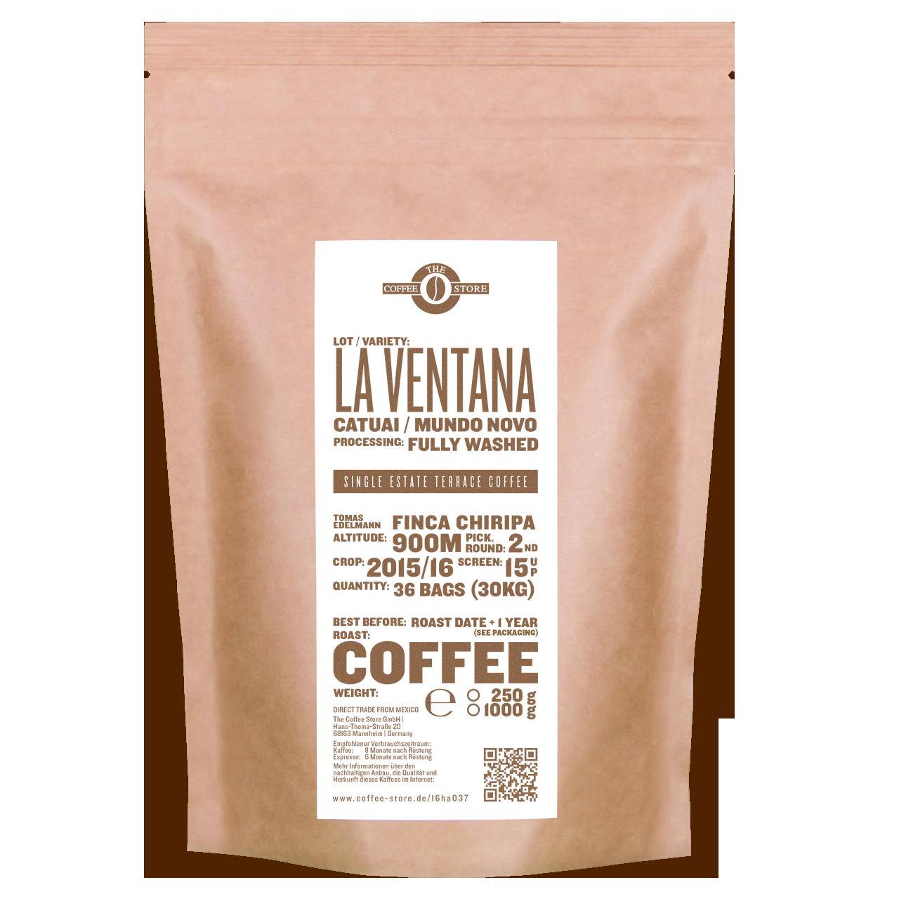 La Ventana, Catuai, Mundo Novo - Kaffeeröstung